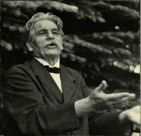 Albert Schweizer - German physician, Nobel Peace Prize SchweitzerInAspen