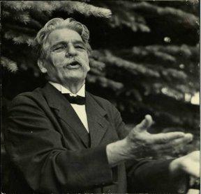 Albert Schweizer - German physician, Nobel Peace Prize SchweitzerInAspen