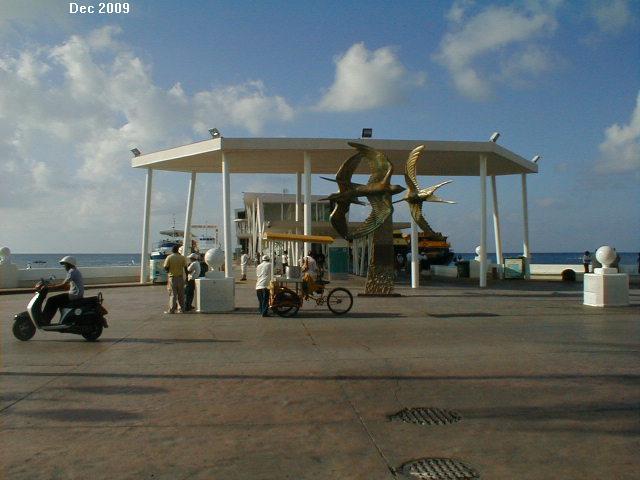 Coz Ferry pier